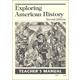 Exploring American History 2nd Edition Teacher's Manual