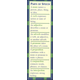 Parts of Speech/Punctuation Bookmark