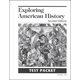 Exploring American History 2nd Edition Test Packet