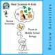Real Science-4-Kids Review Activities for Focus on Middle School Biology CD