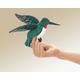 Mini Hummingbird Finger Puppet