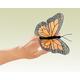 Mini Monarch Butterfly Finger Puppet