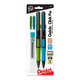 Quick Click Pop Mechanical Pencil, 0.7mm (with lead and eraser refill) 2 pack