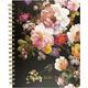 Midnight Floral Desk Calendar 2021