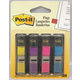 Post-It Flags Assorted Bright Colors - 1/2