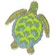 Sea Turtle Enamel Pin