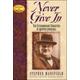 Never Give In: Winston Churchill (LIA)
