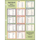 Sight Words in Flash Notebook Chart 2