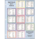 Sight Words in Flash Notebook Chart 4
