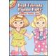 Best Friends Pajama Party Sticker Paper Doll