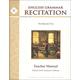 English Grammar Recitation Workbook V Teacher Guide
