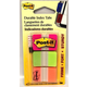 Post-It Index Tabs - Pink, Green and Orange (66 tabs)