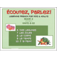 Ecoutez! Parlez! Learning French for Kids and Adults Level 2 with CD
