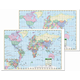 World Study Pad Map - Double Sided - 50 Sheets (17
