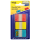 Post-It Index Tabs - Red, Yellow and Blue (66 tabs)