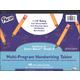 Multi-Program Handwriting Tablet - Conforms to Zaner-Bloser Grade K (40 Sheets)