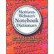 Merriam-Webster's Notebook Dictionary MassMkt