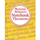 Merriam-Webster's Notebook Thesaurus MassMkt