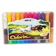 Colorix Silky Crayons 24-Color Set