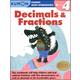 Decimals & Fractions Grade 4 Workbook