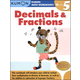 Decimals & Fractions Grade 5 Workbook
