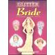 Glitter Bride Sticker Paper Doll