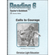 Calls to Courage Teacher Guidebook (1st Edition)