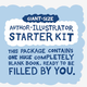 Author-Illustrator Starter Kit - Giant-Size (1 Blank Book)