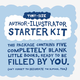 Author-Illustrator Starter Kit - Tiny-Size (5 Blank Books)