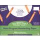 Multi-Program Handwriting Ream D'Nealian (1) / Zaner-Bloser (2) - 1/2