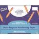 Multi-Program Handwriting Ream Zaner-Bloser K - 1-1/8