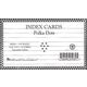 Fashion Index Cards - Polka Dots