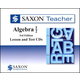 Saxon Teacher for Algebra