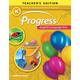 Progress English Language Arts Teacher Edition Grade K