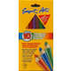 Easy Grip Triangle Colored Pencils - Set of 10