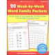 20 Week-By-Week Word Family Learning Packets
