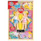 Sweet Hearts Magnetic Wooden Dress-Up Dolls