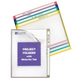Colored Project Folders With Write-On Tab (25 Assorted)