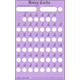 Holey Card Multiplication Facts with Answers 0-9 & 12