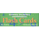 Geometry Vocabulary and Definites Flash Cards