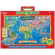 Map of the World Magnetic Playboard Puzzle