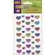 Peel & Stick Gemstones - Large Bright Hearts