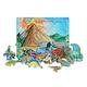 Flipzles Dinosaur Volcano