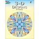3-D Geometric Designs Coloring Book