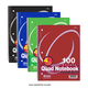 Spiral Notebook Quad-Ruled 4/1