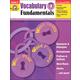 Vocabulary Fundamentals Grade 4