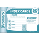 Ruled White Index Cards ( 4