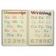 Manuscript Writing Placemat