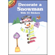 Decorate a Snowman Small Sticker Picture Book