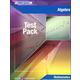 Algebra Test Pack w/ Ans Key (Pwr Basics)